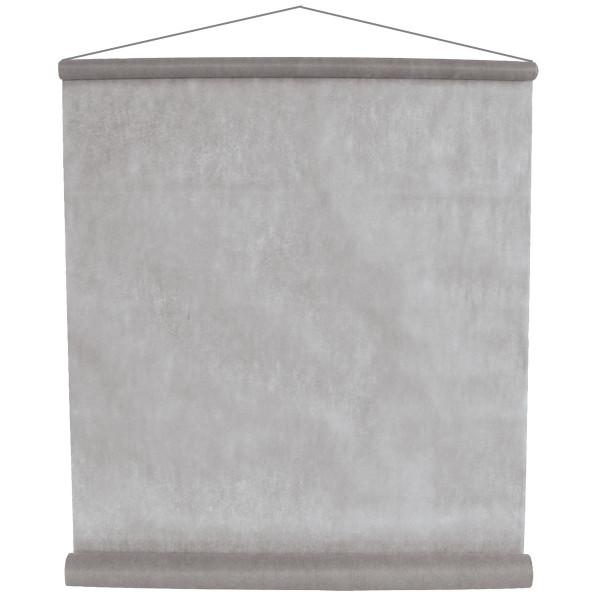 Raumbanner Vlies 80 cm x 12 m - grau