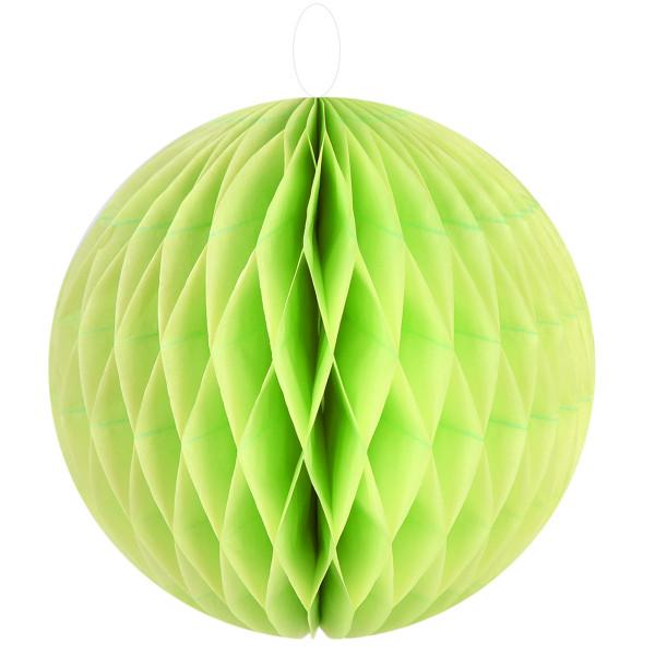 Honeycombs / Wabenbälle 30 cm (2 Stück) - hellgrün