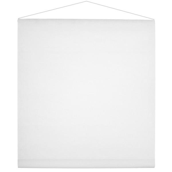 Raumbanner Vlies 80 cm x 12 m - weiß