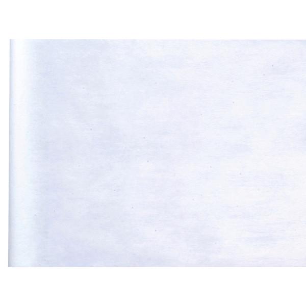 Tischläufer Vlies 30 cm x 25 m - weiß