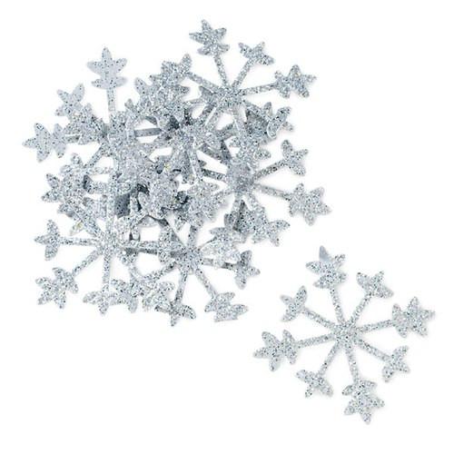 Streudekoration - Schneeflocke (12 Stück)