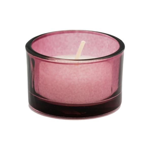 Teelicht / Kerzenhalter (6 Stück) - beere