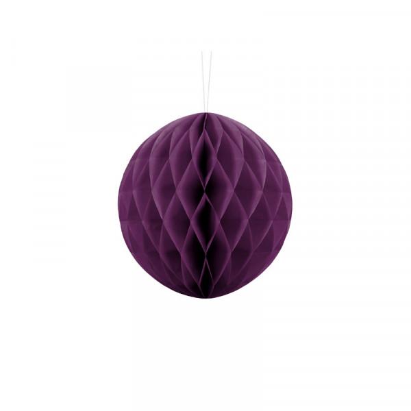 Wabenball 20 cm lila
