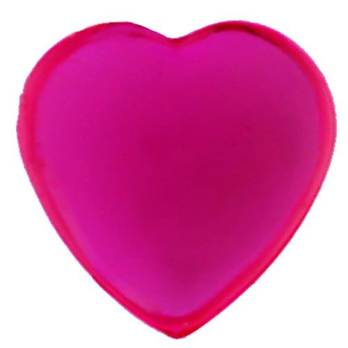 Herz-Strasssteine, selbstklebend (36 Stück) - pink