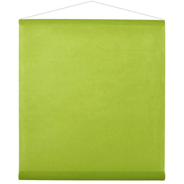 Raumbanner Vlies 80 cm x 12 m - hellgrün