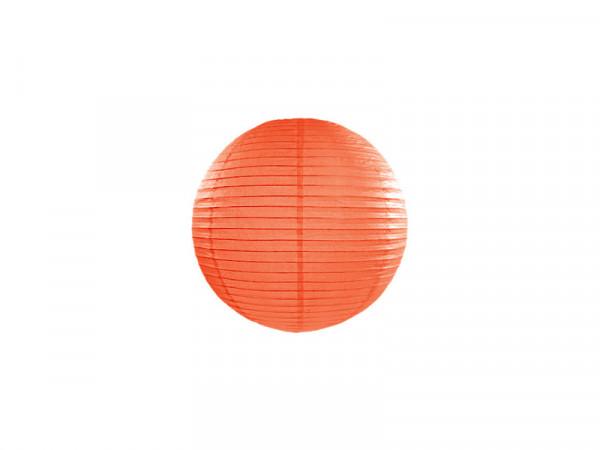 Laterne / Lampion rund 20 cm orange