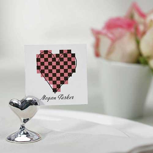 Tischkartenhalter 'Herz' (1 Stück)