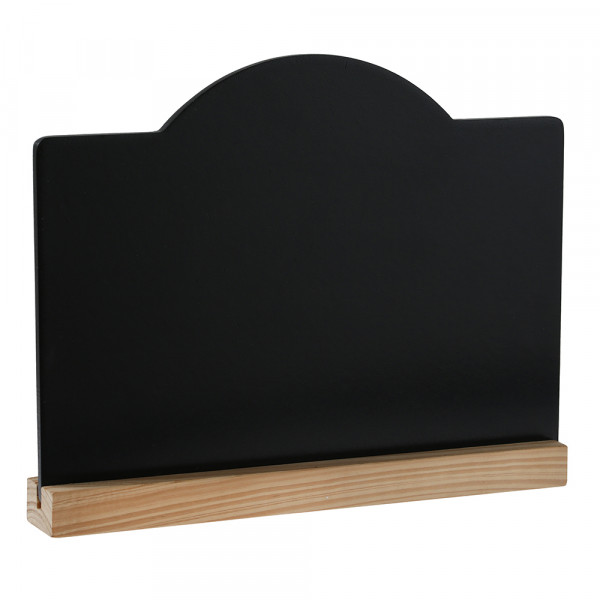 Tafel zum Stellen 15 x 19,9 cm - natur