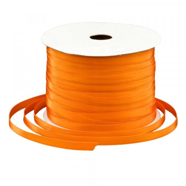 Satinband 6 mm x 91 m - orange