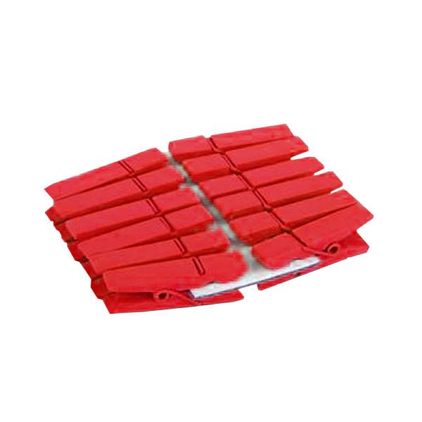 Klammern (12 Stück) - rot