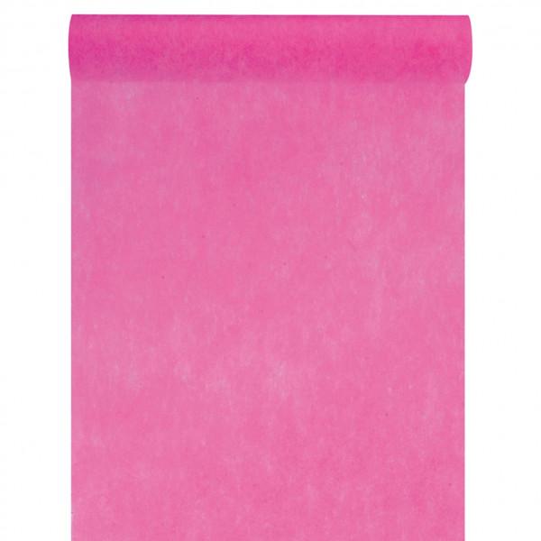 Tischläufer Vlies 30 cm x 10 m - pink