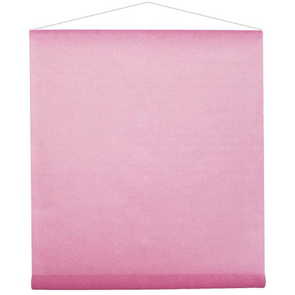 Raumbanner Vlies 80 cm x 12 m - rosa