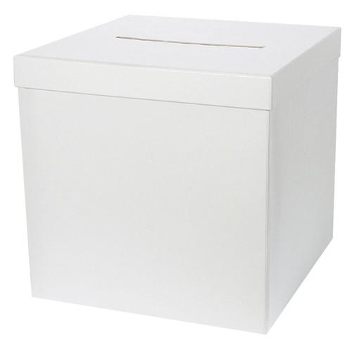 Briefbox / Geschenkbox 20 x 20 cm - weiß