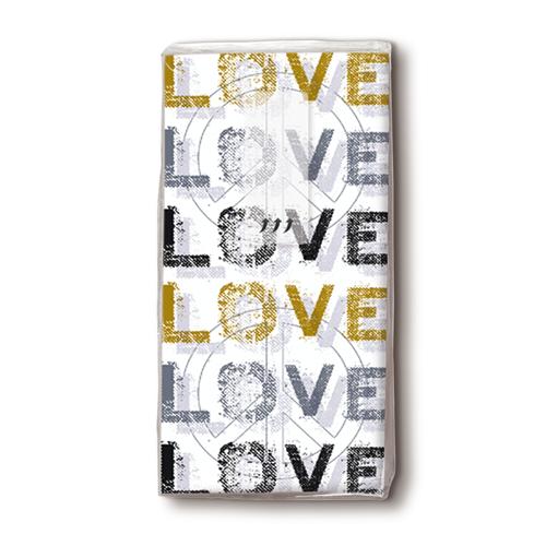 Taschentücher 'Love' 10 Stück