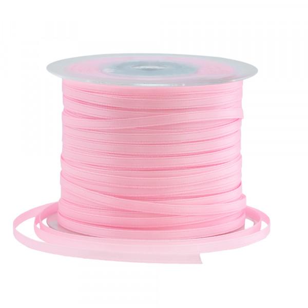 Satinband 3 mm x 100 m - rosa