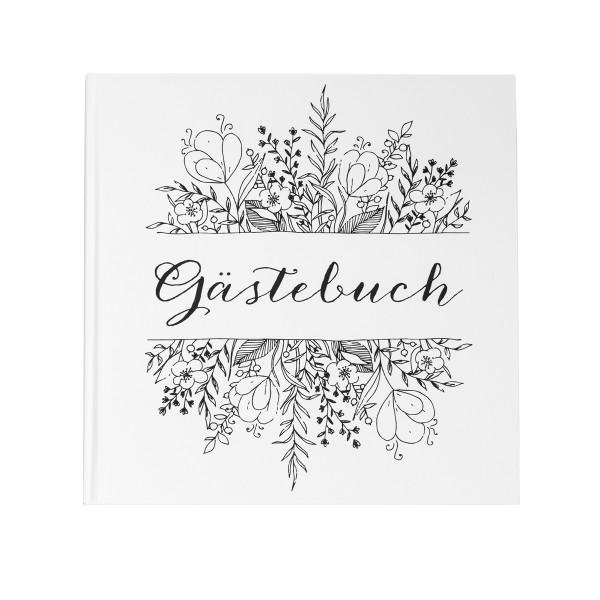 Gästebuch 'Sketch' weiß