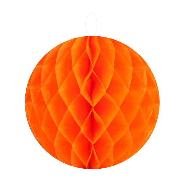 Honeycombs / Wabenbälle 20 cm (2 Stück) - orange