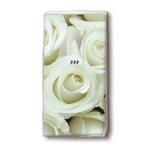Taschentücher 'Wedding Rose' 10 Stück
