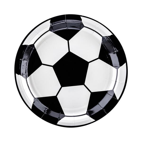 Fußball Party Teller (6 Stück)