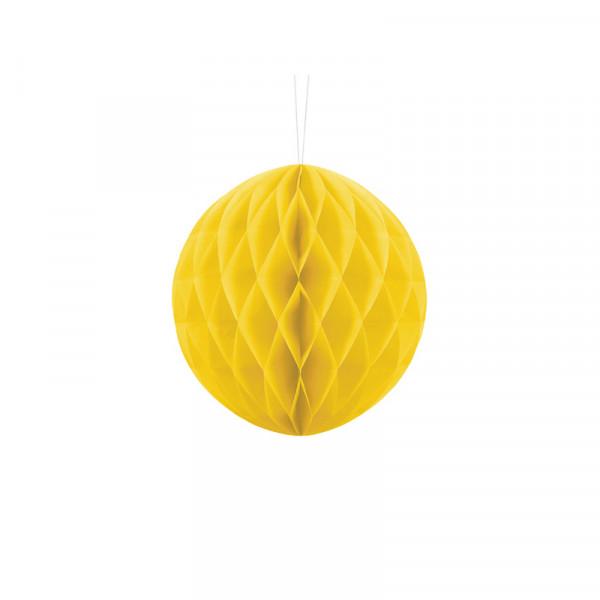 Wabenball 20 cm gelb