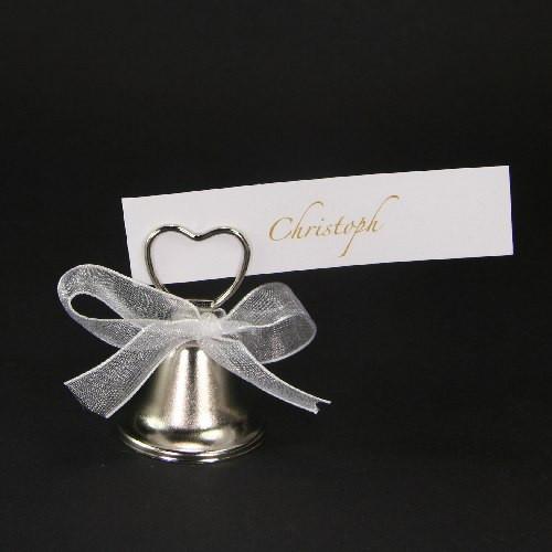 Tischkartenhalter Hochzeitsglocke