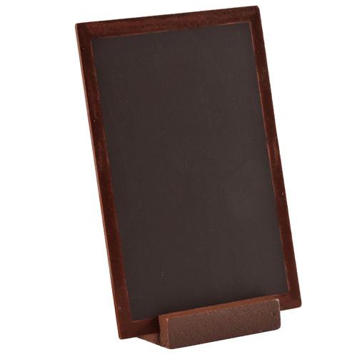 Tafel zum Stellen 10 x 15 cm - braun