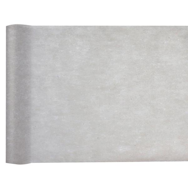 Tischläufer Vlies 30 cm x 25 m - grau