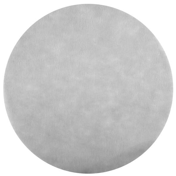 Platzset / Tischset Vlies rund 34 cm (50 Stück) - grau