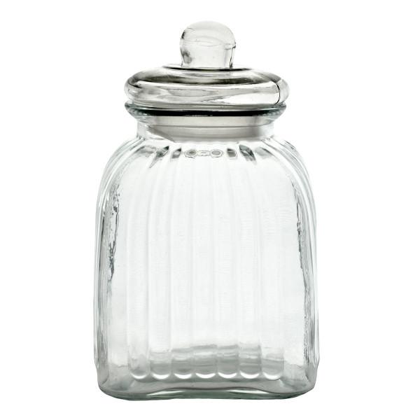 Vorratsglas / Bonbonglas mit Deckel - Höhe 27 cm