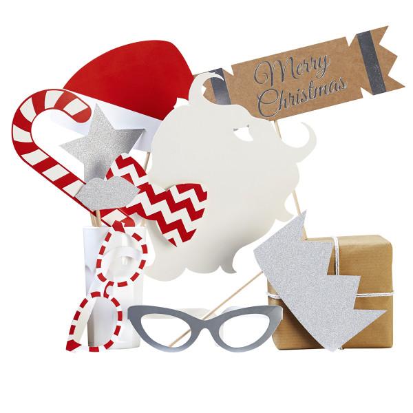 Photo Booth 'Christmas Glamour' 10tlg.