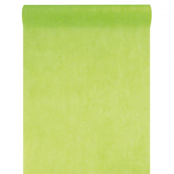 Tischläufer Vlies 30 cm x 10 m - hellgrün