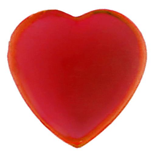 Herz-Strasssteine, selbstklebend (36 Stück) - rot