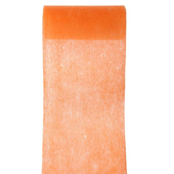 Servietten- / Tischband 10 cm x 10 m - orange