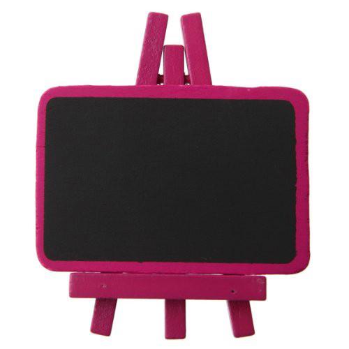 Staffelei mit Tafel (4 Stück) - pink