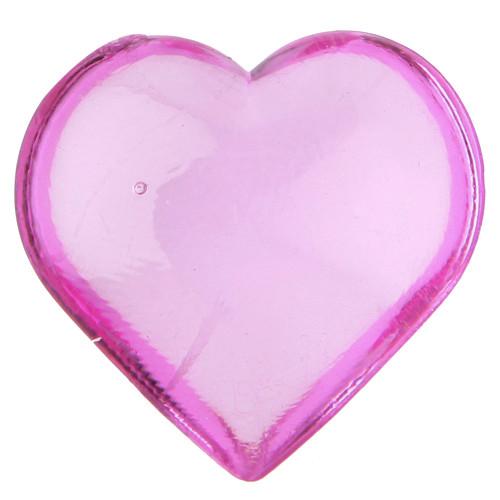 Streudekoration Herzen (12 Stück) - pink