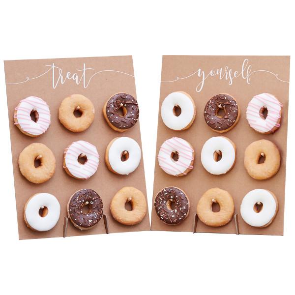 Donut Wand / Ständer Kraft 2 Stück