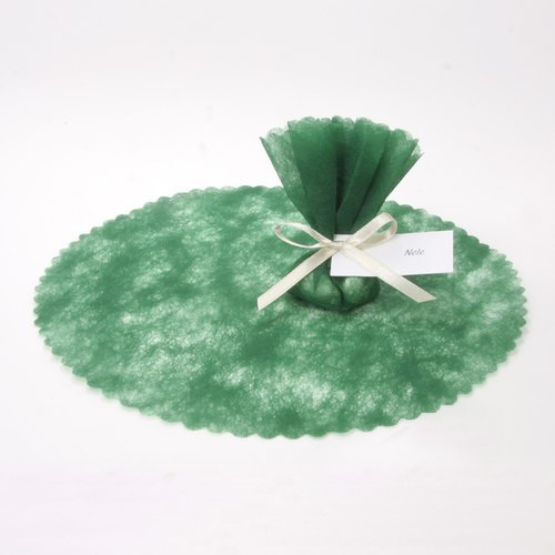 Vlieskreise (100 Stück) - grün