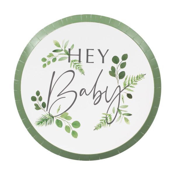 Botanical Baby Teller Hey Baby (8 Stück)