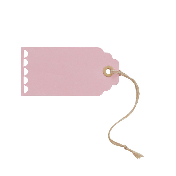 Anhänger Vintage (10 Stück) - rosa