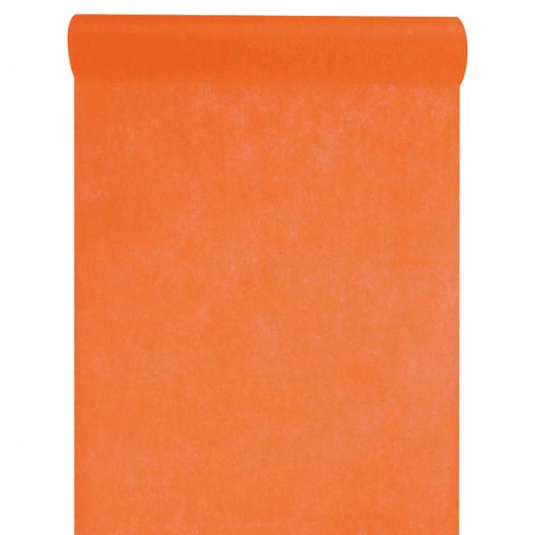 Tischläufer Vlies 30 cm x 10 m - orange