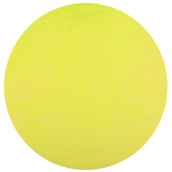 Platzset / Tischset Vlies rund 34 cm (50 Stück) - gelb