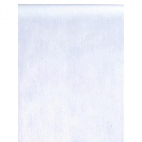 Tischläufer Vlies 30 cm x 10 m - weiß