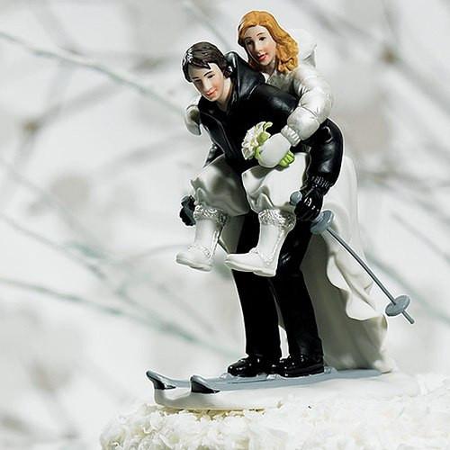 Tortenfigur Schneespaß