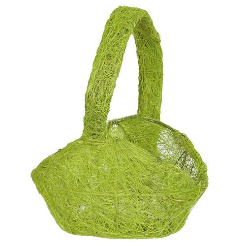 Streukörbchen Sisal - hellgrün